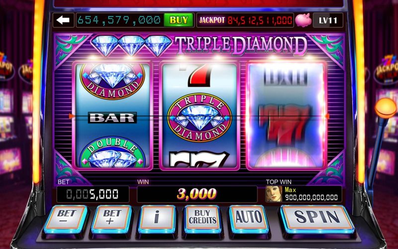 Play slot games for real money and win